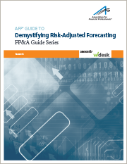 AFP Guide to Demystifying Risk-Adjusted Forecasting